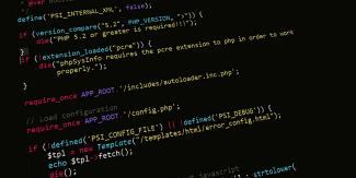 PHP Code Software Development Project